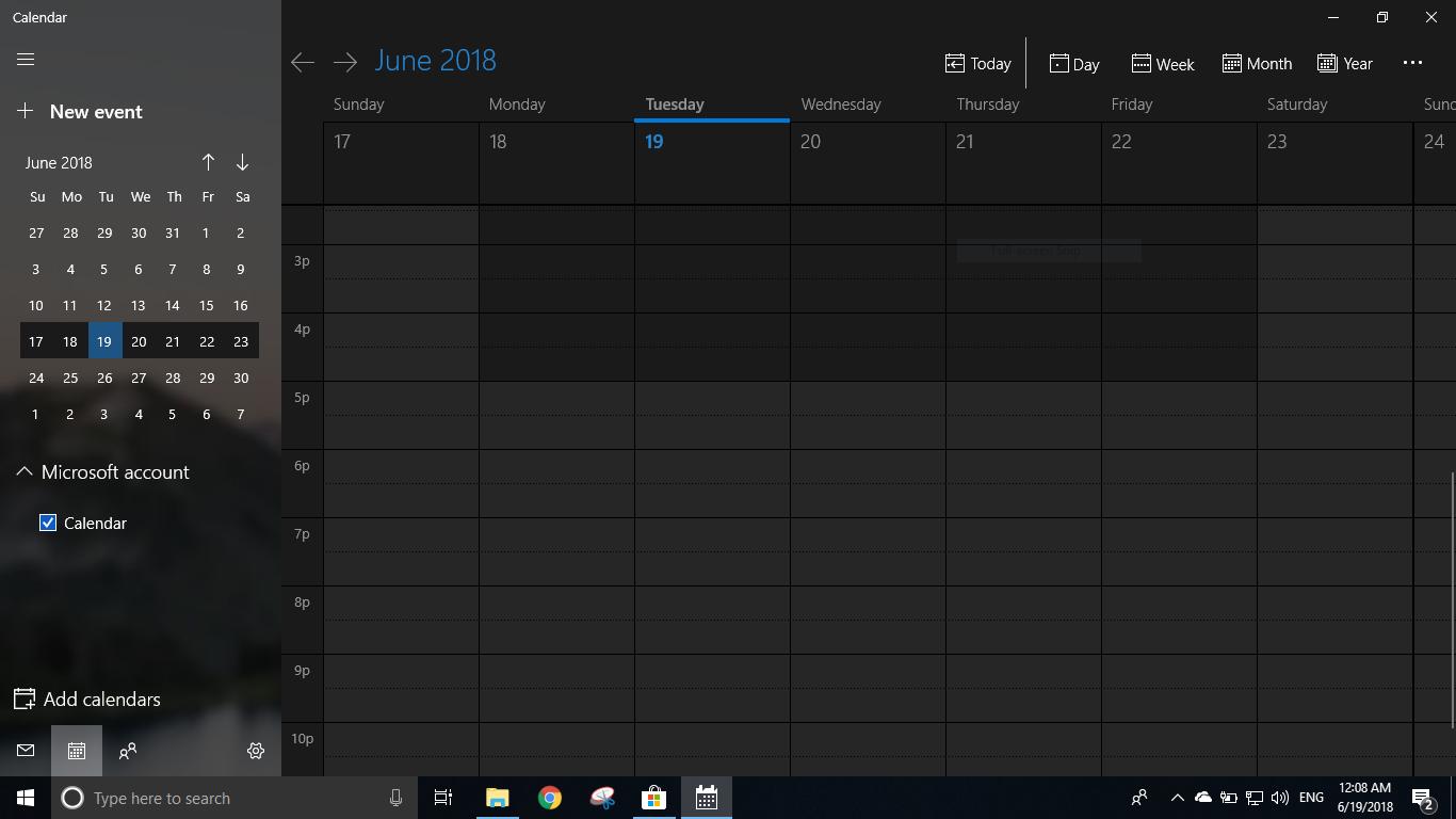 Calendar-v3