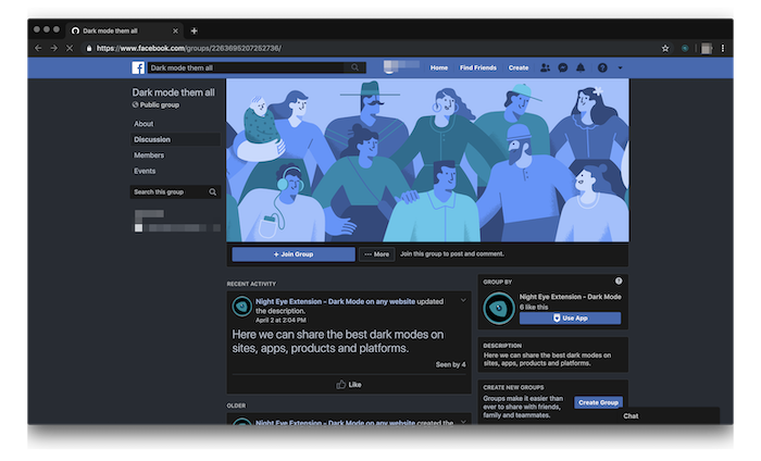 facebook dark mode apk 2019 download