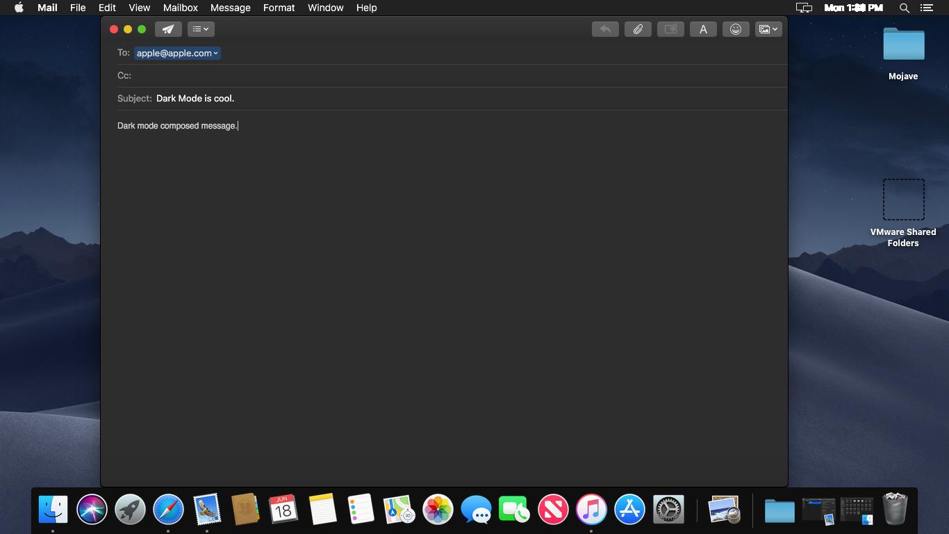 macOS Mojave dark mode vs Windows 10 dark mode | Night Eye
