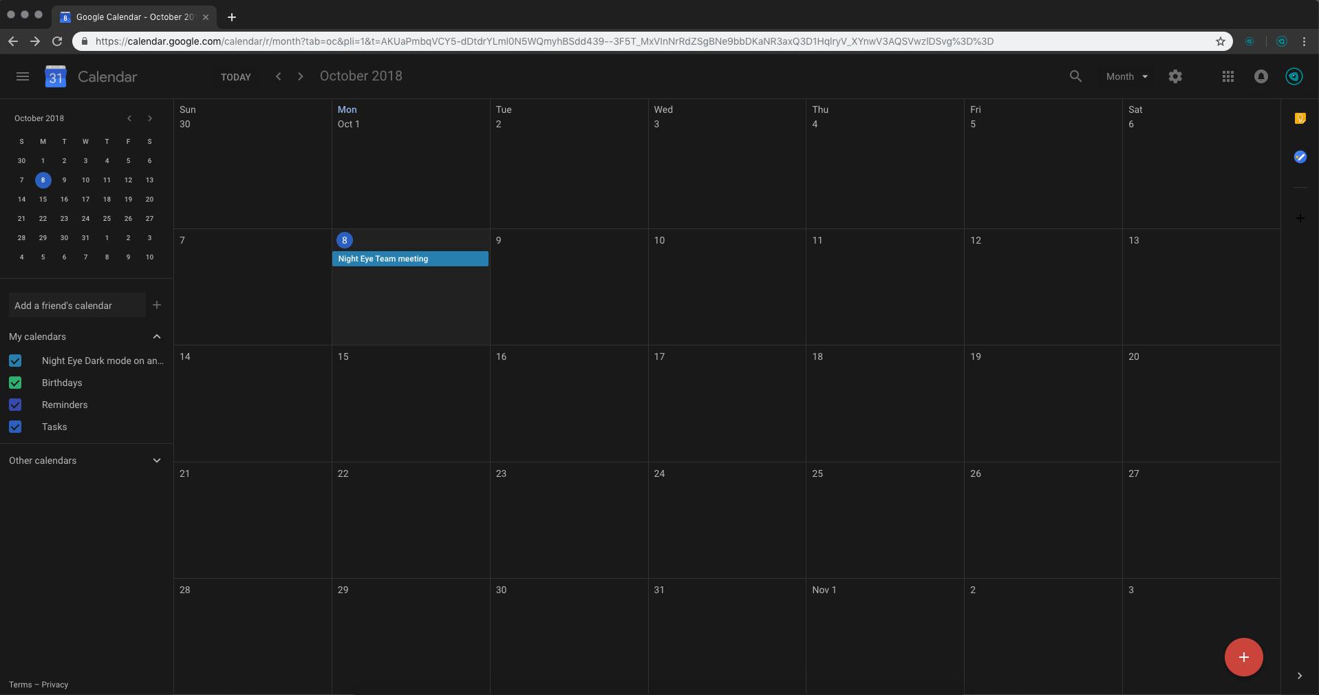 Google-calendar-dark-mode-night-eye