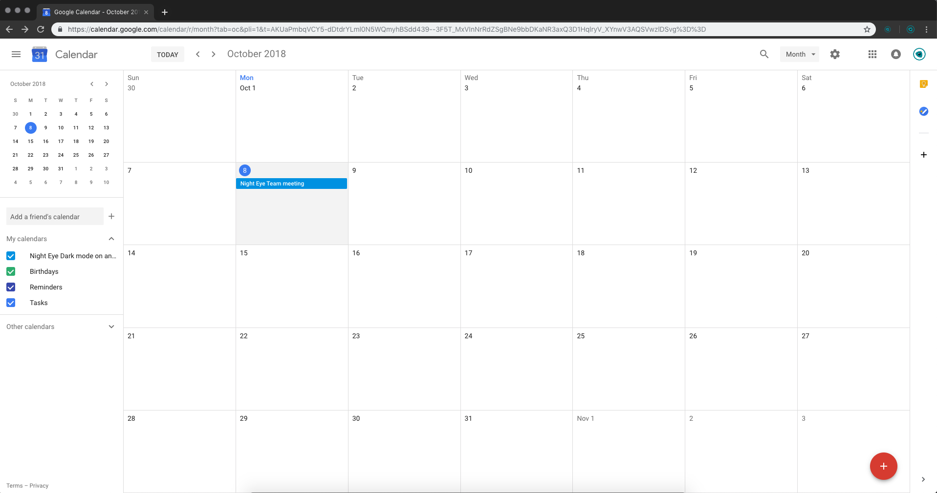 Google-calendar-normla-mode-night-eye