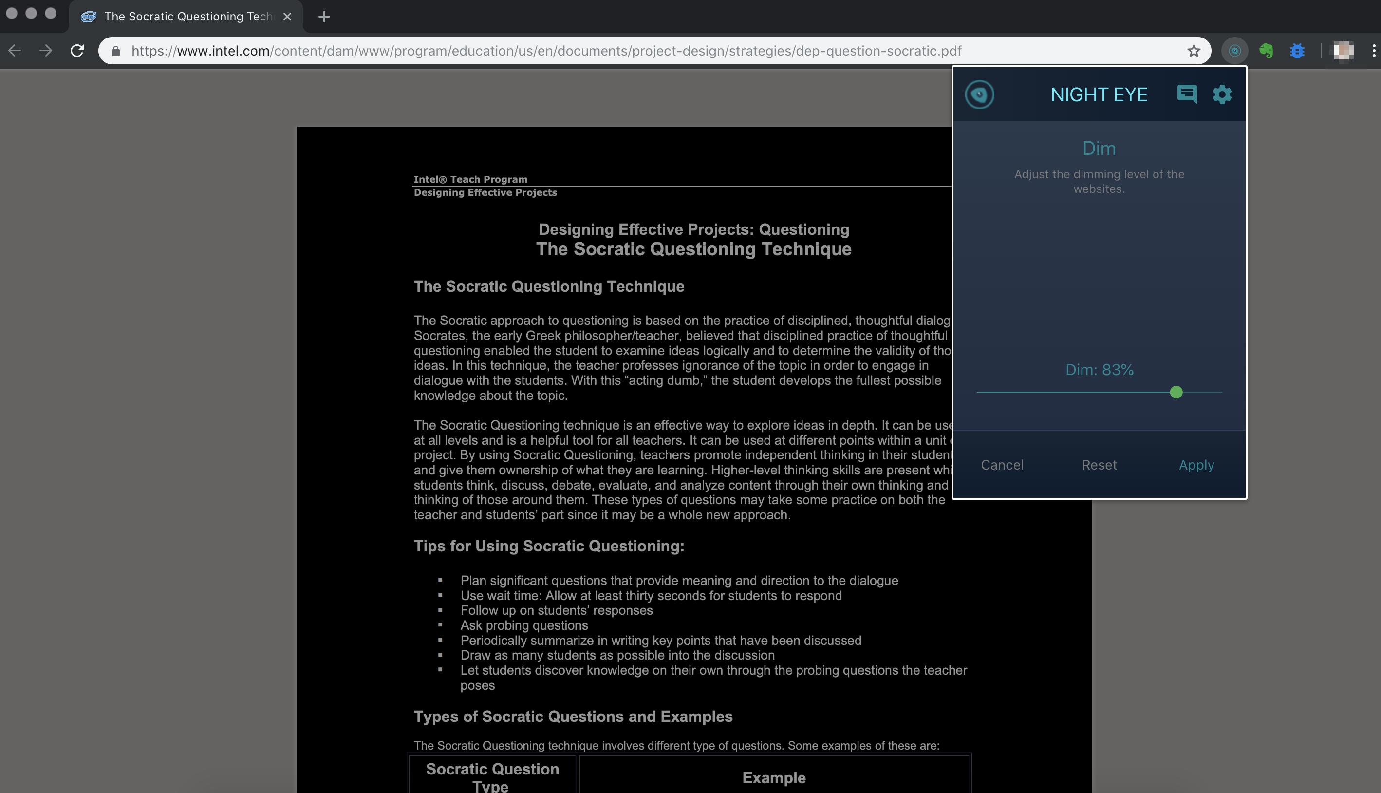 pdf-Dark-mode-and-filtering