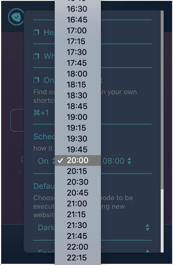 set-schedule