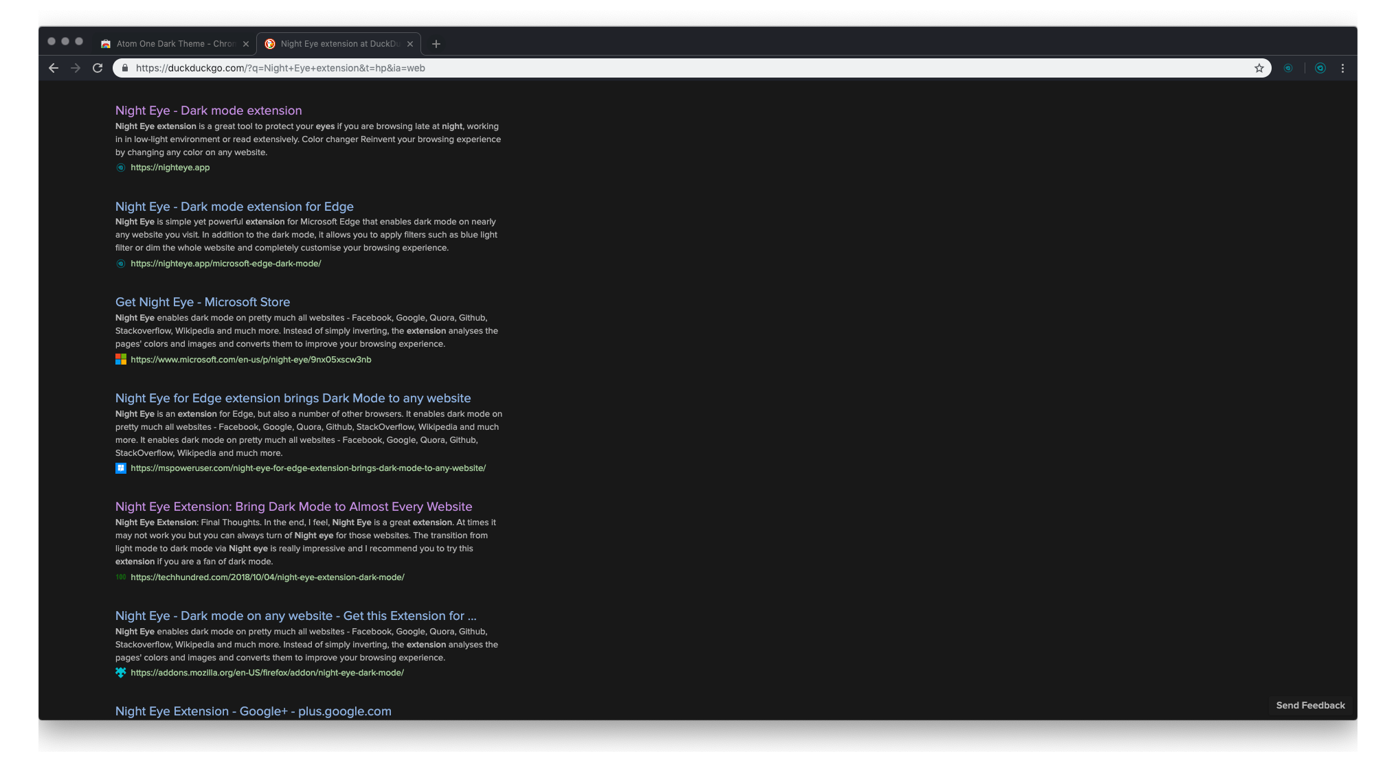 Atom One Dark Theme - preview 2