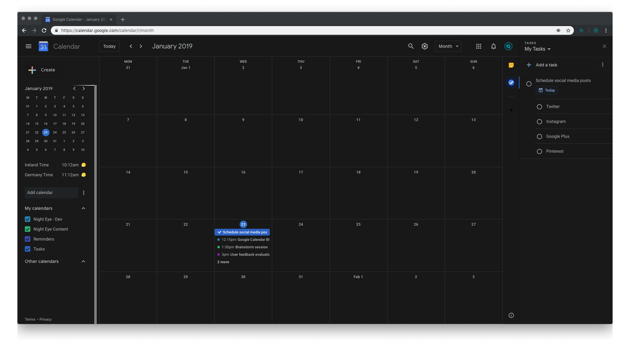 Google-Calendar-Month-Dark-Mode
