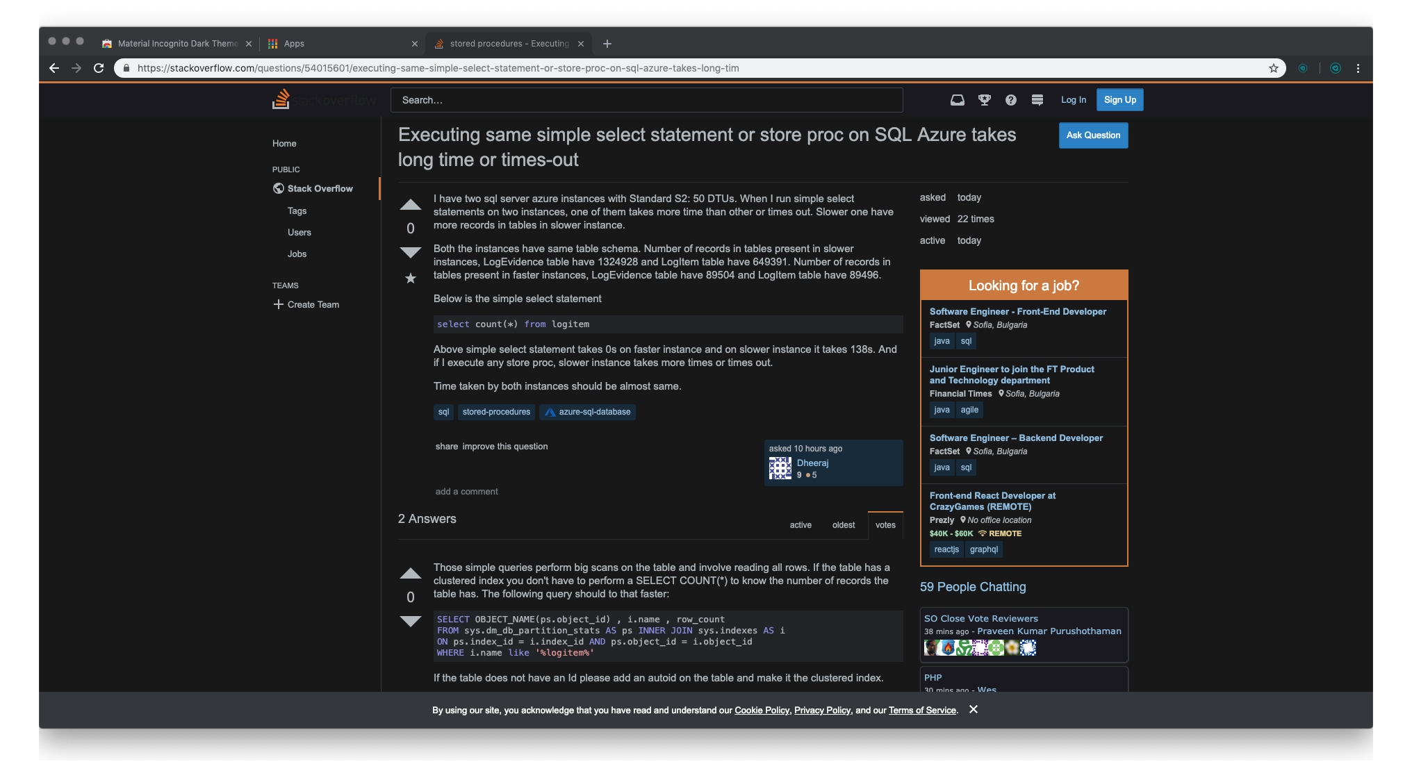 Material Incognito Dark Theme - preview 2
