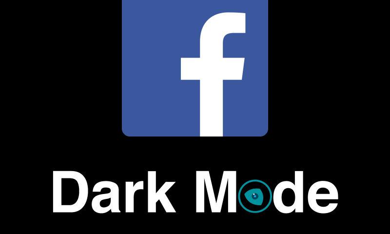 Facebook Logo Dark Mode by Night Eye