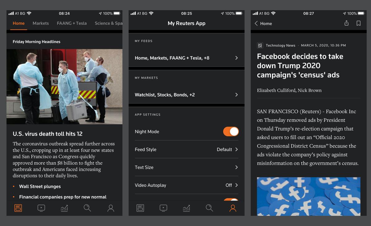 Reuters-Iphone-dark-mode