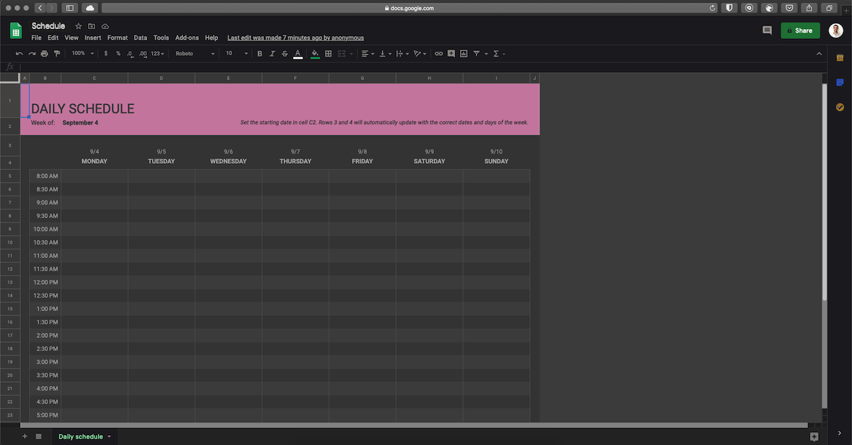 google-sheets-dark-mode-by-night-eye-2