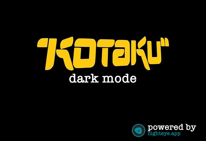 kotaku dark mode