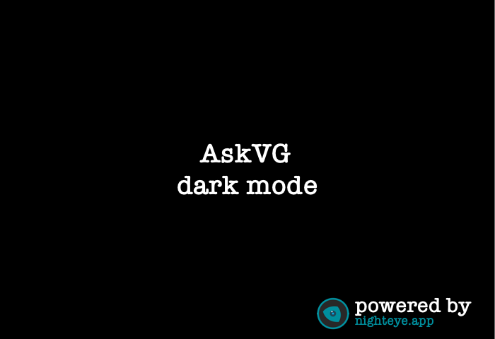 askvg dark mode