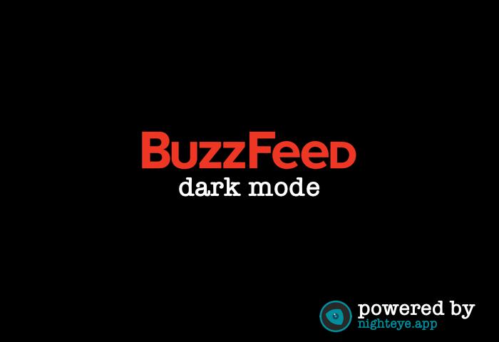buzzfeed dark mode
