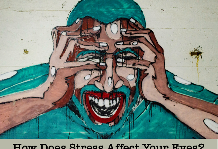 how does stress affect your eyes