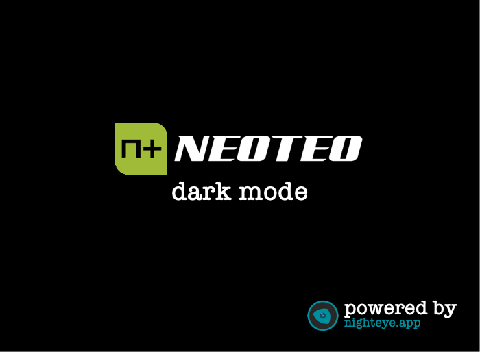 neoteo dark mode