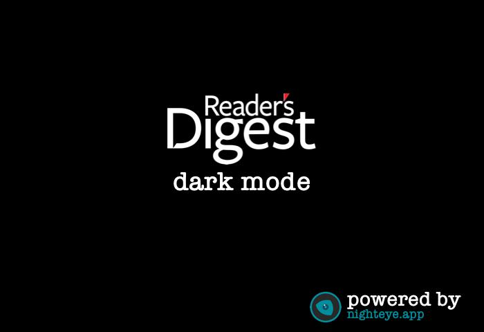 reader's digest dark mode