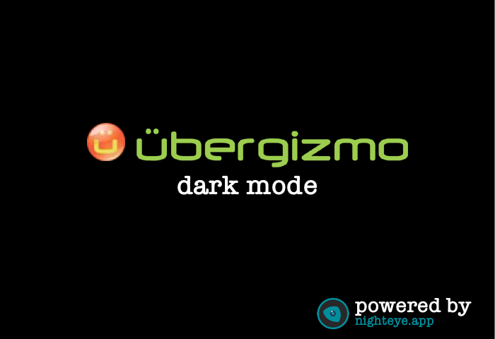 ubergizmo dark mode