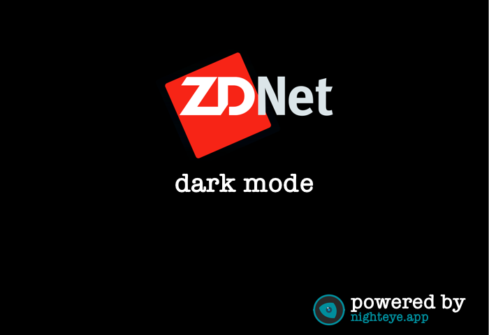 zdnet dark mode